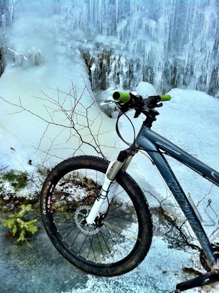 cykel på is
